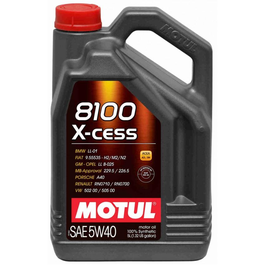 MOTUL 8100 X-Cess SAE 5W-40 (5L)