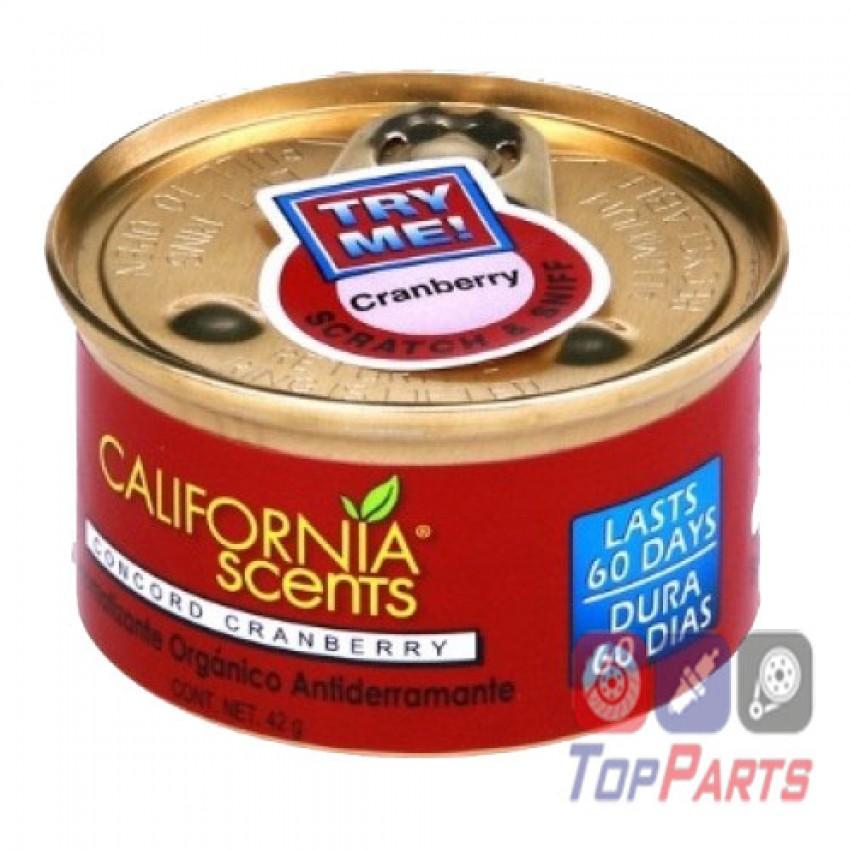פחית ריח אוכמניות קליפורניה